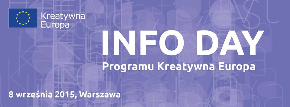 TAKE OVER na Info Day Programu Kreatywna Europa
